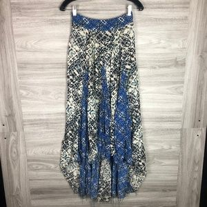 Free People Blue Maxi Skirt Size XS